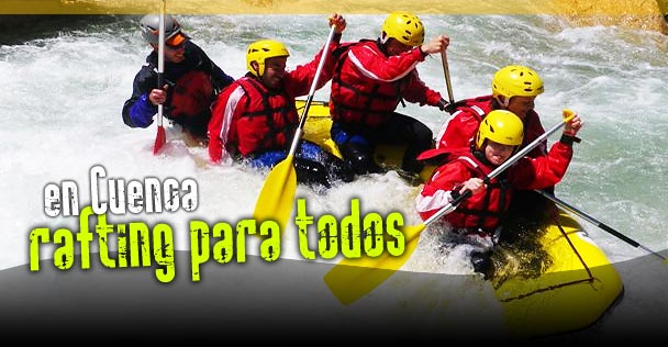 rafting Madrid y Cuenca