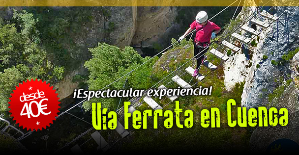 via ferrata de Cuenca